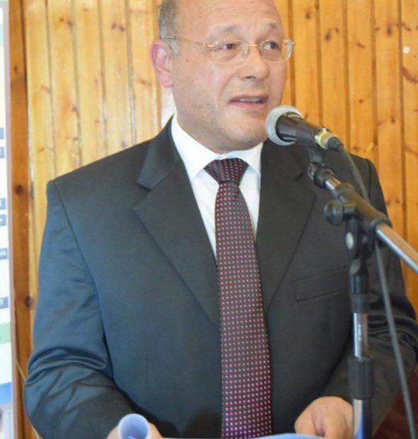 ا.د حسان النعمانى -نائب رئيس الجامعة لشؤون الدراسات العليا والبحوث